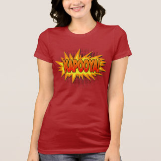 Kapooya Hail Storm Meme Comic Exclamation T-Shirt