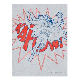 KAPOW! Batman Graphic Postcard