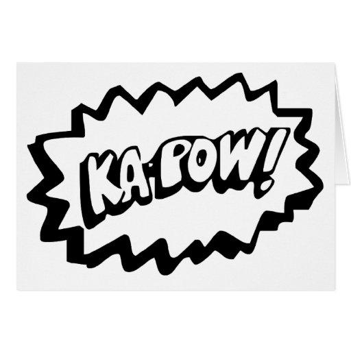 Kapow! Card