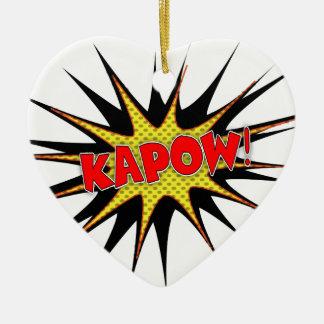 Kapow! Christmas Ornaments
