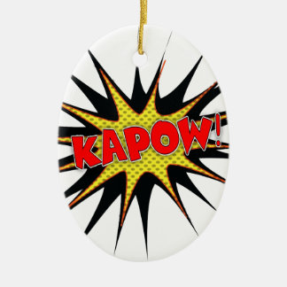 Kapow! Christmas Tree Ornaments