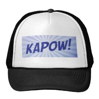 KAPOW comic book apparel Cap