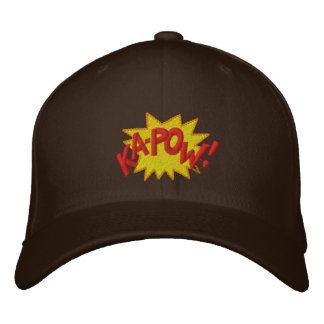 KAPOW EMBROIDERED BASEBALL CAP