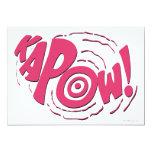 """¡KAPOW! INVITACIÓN 5"""" X 7"""""""