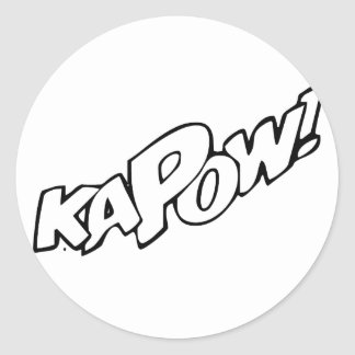 Kapow Stickers