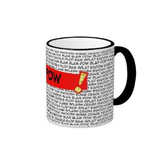 ¡kapow! Taza de café del super héroe