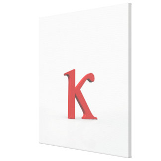 Kappa 2 gallery wrapped canvas