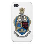 Kappa alfa PSI - escudo de armas iPhone 4 Cobertura