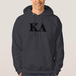Kappa Alpha Order Black Letters Hoodie