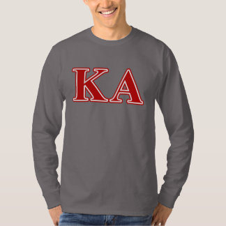 Kappa Alpha Order Red Letters T-Shirt