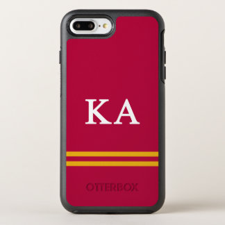 Kappa Alpha Order | Sport Stripe OtterBox Symmetry iPhone 8 Plus/7 Plus Case