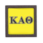 Kappa Alpha Theta Black Letters Premium Gift Boxes