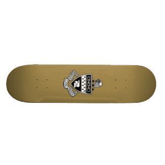 Kappa Alpha Theta Coat of Arms: Black Skateboard
