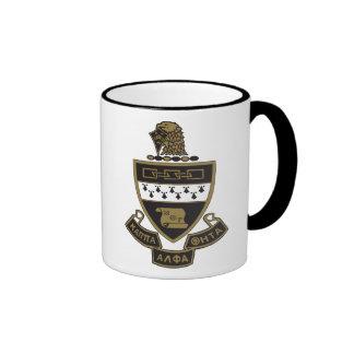 Kappa Alpha Theta Coat of Arms:Color Ringer Coffee Mug
