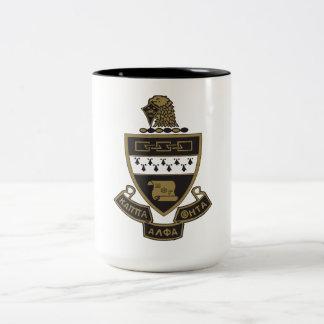 Kappa Alpha Theta Coat of Arms:Color Two-Tone Coffee Mug