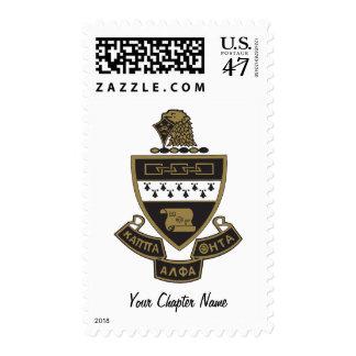 Kappa Alpha Theta Coat of Arms: Color Postage