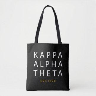 Kappa Alpha Theta   Est. 1870 Tote Bag