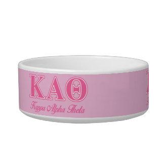 Kappa Alpha Theta Pink Letters Bowl
