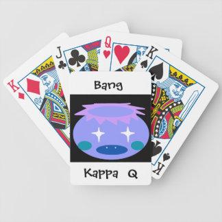 Kappa Bicycle Playing Cards