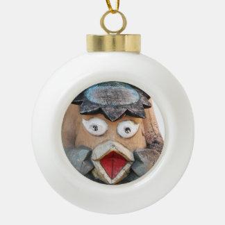 Kappa Ceramic Ball Christmas Ornament