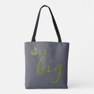 Kappa Delta Big Script Tote Bag