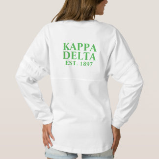 Kappa Delta Green Letters