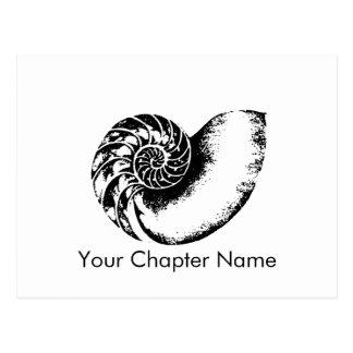 Kappa Delta Nautilus Postcard