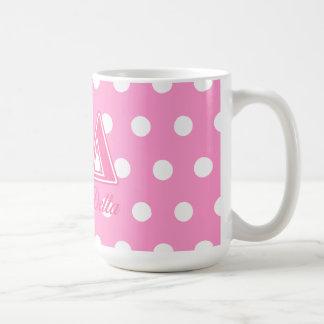 Kappa Delta Pink Letters Coffee Mugs