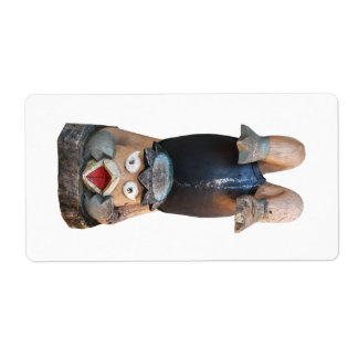 Kappa Handstand Shipping Label