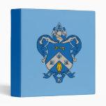 Kappa Kappa Gama Coat of Arms 3 Ring Binder