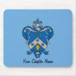 Kappa Kappa Gama Coat of Arms Mouse Pad