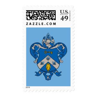 Kappa Kappa Gama Coat of Arms Postage