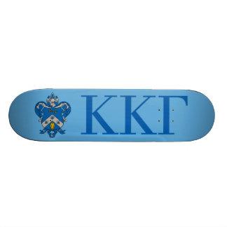 Kappa Kappa Gama Coat of Arms Skateboard Deck