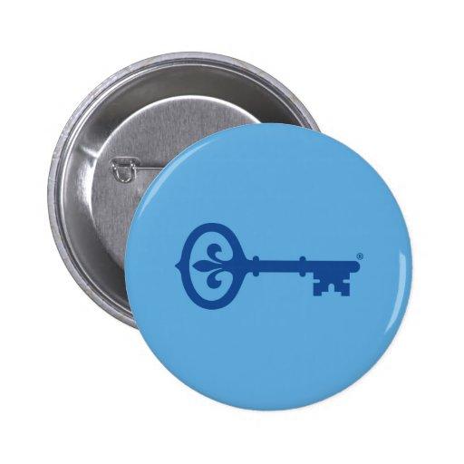 Kappa Kappa Gama Key Symbol Pinback Button
