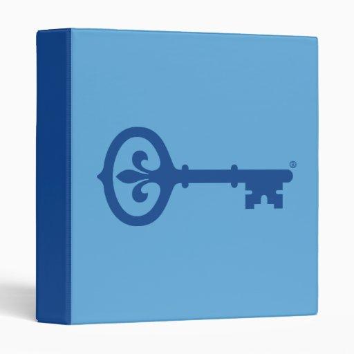 Kappa Kappa Gama Key Symbol Vinyl Binders