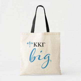 Kappa Kappa Gamma   Big Script Tote Bag