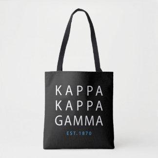 Kappa Kappa Gamma   Est. 1870 Tote Bag