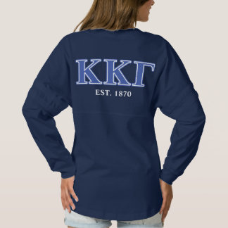 Kappa Kappa Gamma Royal Blue Letters