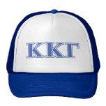 Kappa Kappa Gamma Royal Blue Letters Mesh Hats