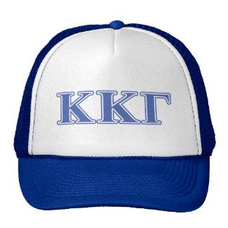 Kappa Kappa Gamma Royal Blue Letters Trucker Hat