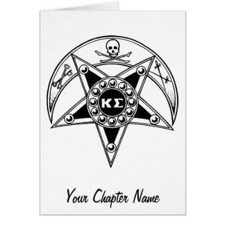 Kappa Sigma Badge Card