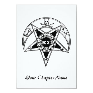 Kappa Sigma Badge Card