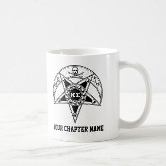 Kappa Sigma Badge Classic White Coffee Mug