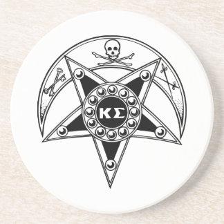 Kappa Sigma Badge Coaster