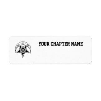 Kappa Sigma Badge Label