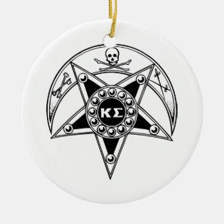 Kappa Sigma Badge Christmas Tree Ornament