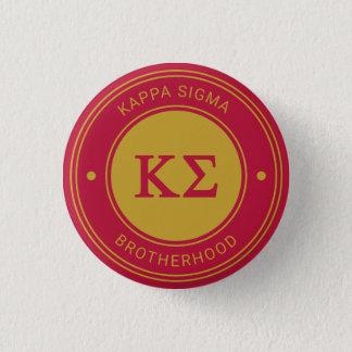 Kappa Sigma | Badge Pinback Button