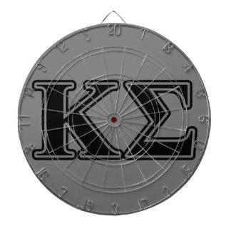 Kappa Sigma Black Letters Dart Boards
