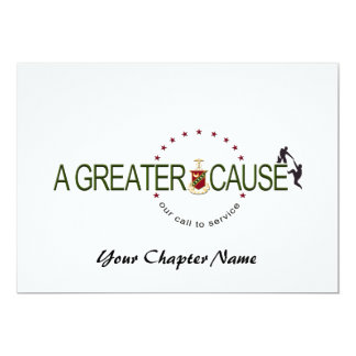 Kappa Sigma Cause Logo Card