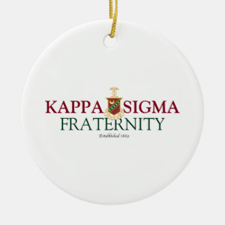 Kappa Sigma Christmas Tree Ornaments